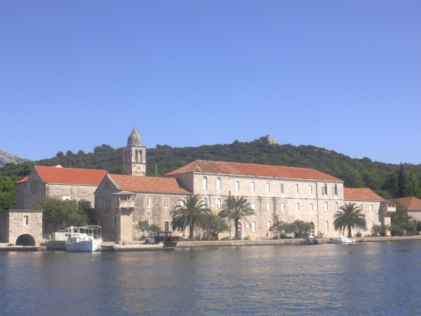 monastery on the island of bahia