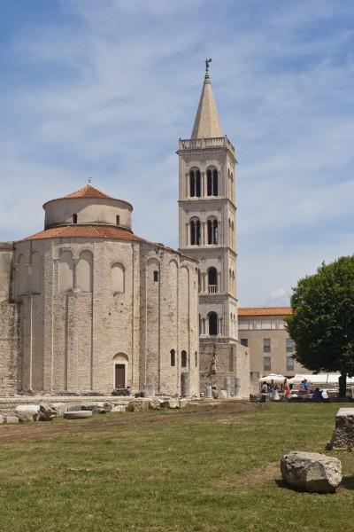 roman forum in zadar