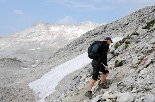 mountaineering in the wetterstein mountains upper
