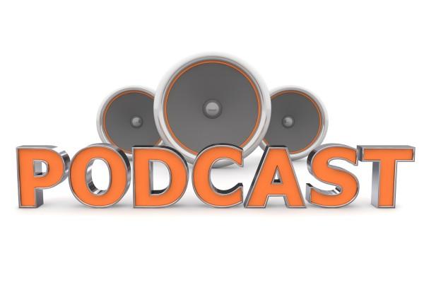 speakers podcast orange