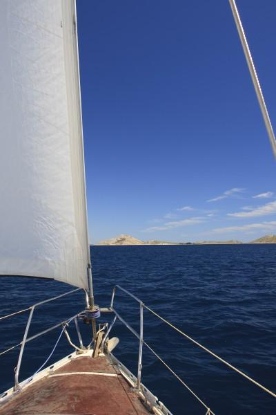 sailing in the kornati