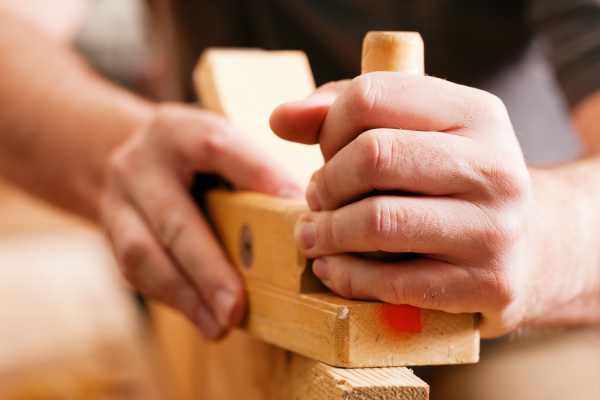 joiners or carpenters with planer