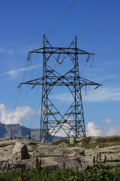 power pole gotthardpass