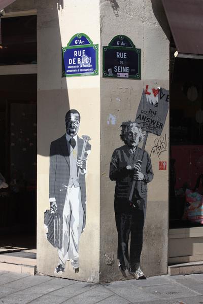 albert einstein street paris