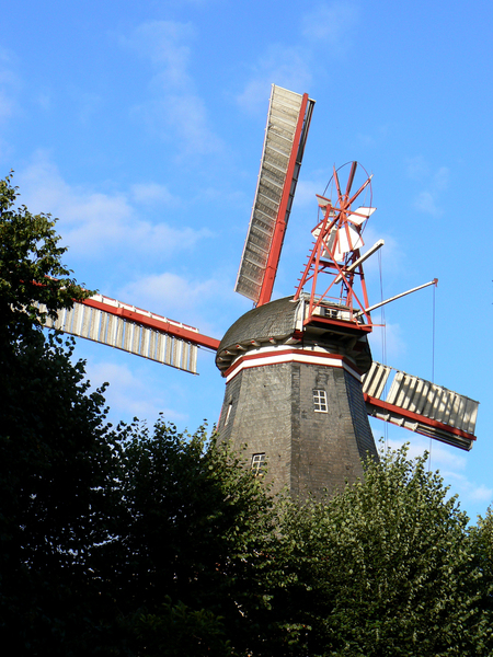herdentorswallmühle, in, bremen - 3772425