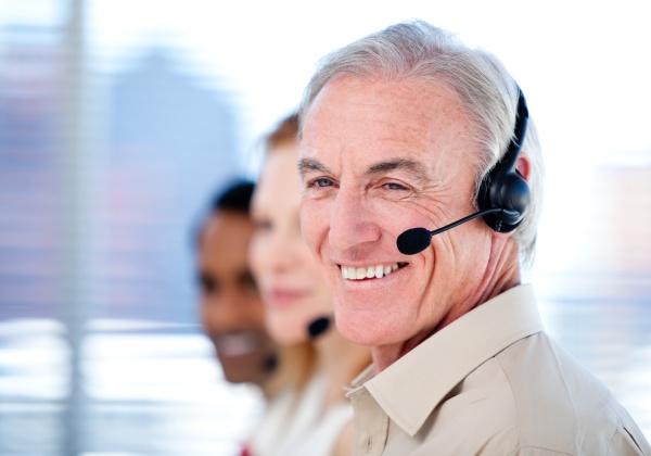 self assured sales representative team with