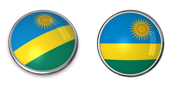 banner button rwanda ruanda