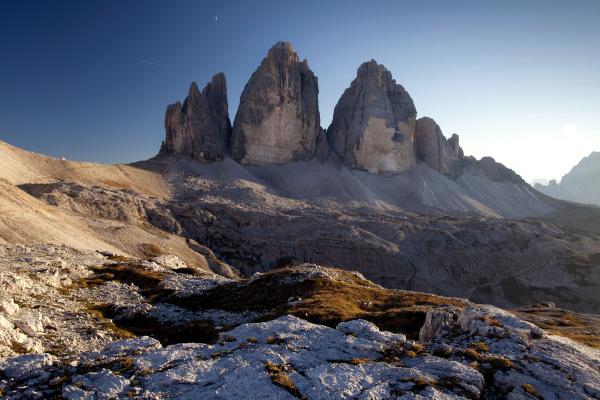 three peaks south tyrol