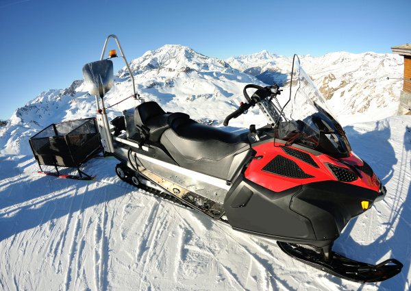 snow sledge mobile