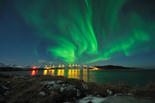aurora borealis norway sommaroy february 2012