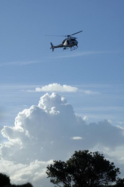 heli in the sky