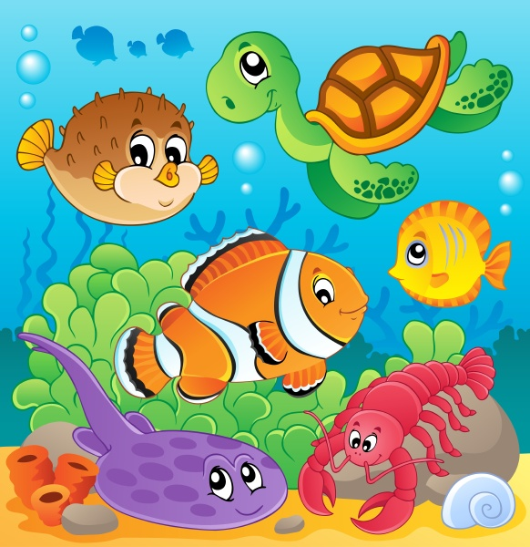 image with undersea theme 6