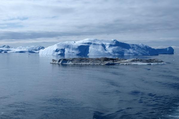 iceberg greenland west coast in