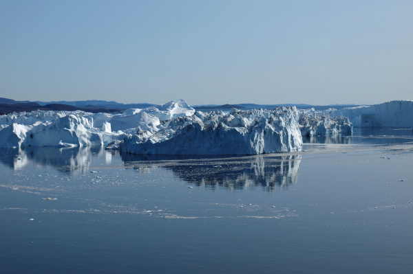 icebergs ilulissat south coast greenland
