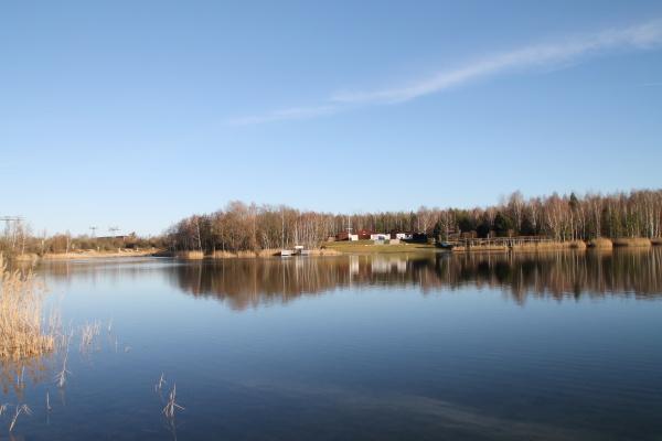 a bathing lake