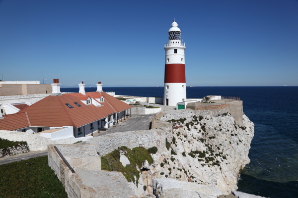 europa point lighthouse in gibraltar