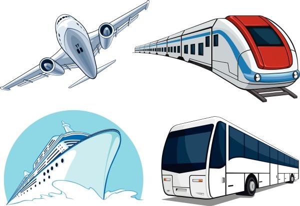 travel transportation set