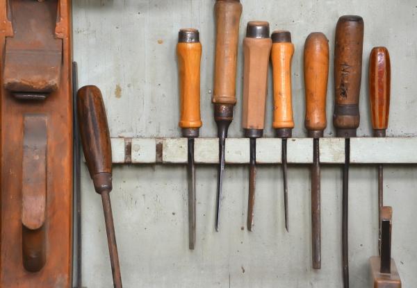 tools in a carpenter
