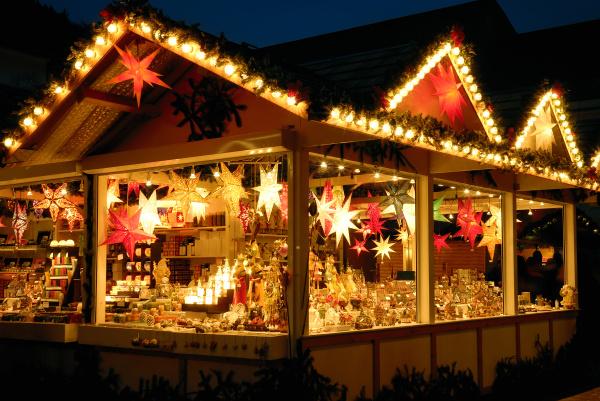 stall at christmas market