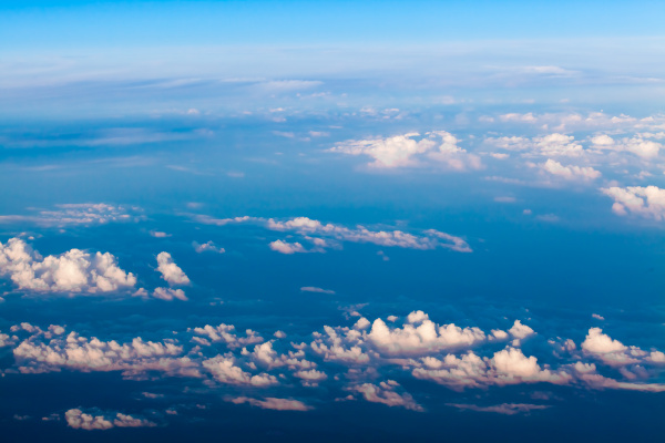 clouds, , view, from, the, window - 10145699