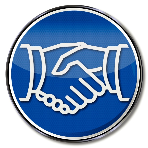 sign handshake