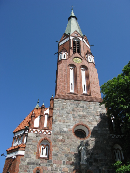 st georges church in sopot zoppot