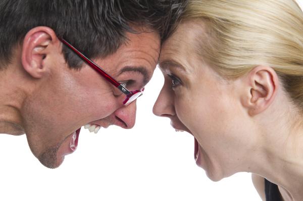 dispute between a couple