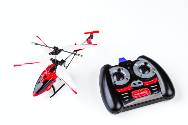 radio controlled model of the helicopter