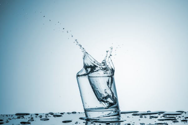 water, in, glass, with, water, splash - 14350877