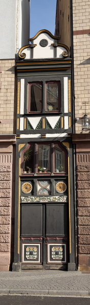 germany narrowest house in eisenach