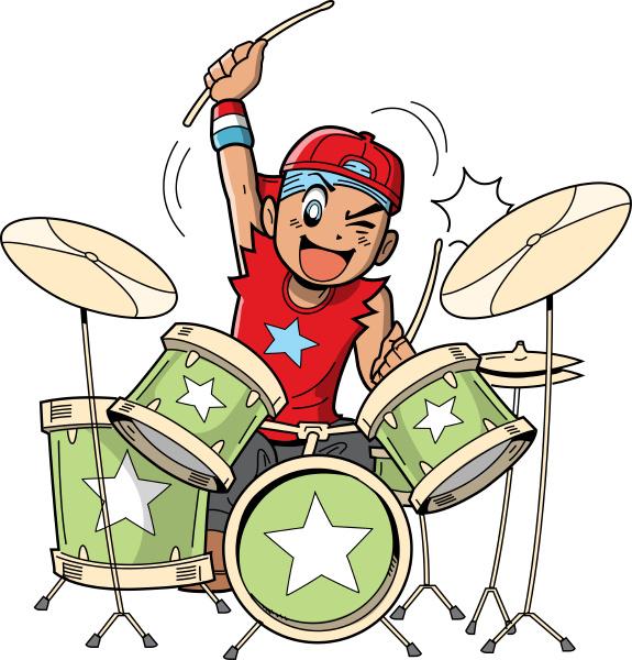 anime manga drummer