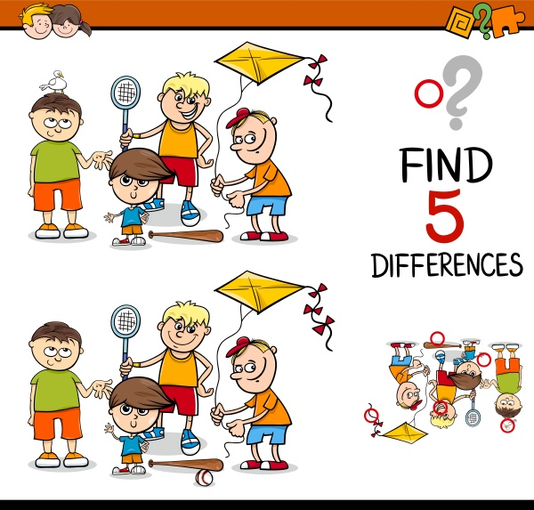 differences, activity, for, kids - 16318179