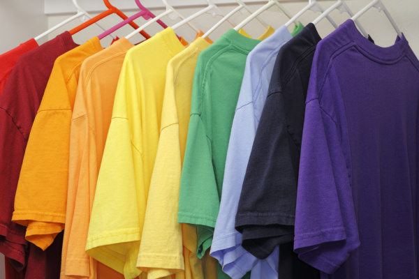 ten, different, colors, of, t, shirts - 16319375