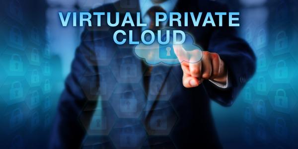 administrator, pressing, virtual, private, cloud - 16320967