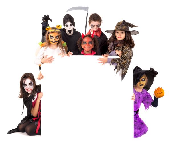 kids, in, halloween - 16320835