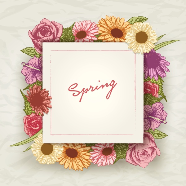 spring, card - 16321551