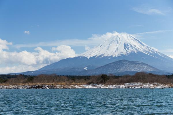 fujisan, and, lake, shoji - 16323305
