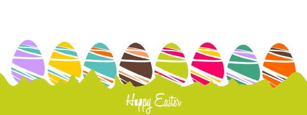 cheerful, easter, background, with, colorful, decorated - 16324491