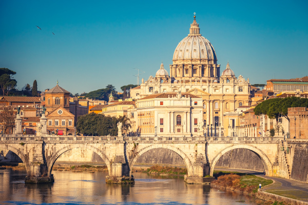 st., peter's, cathedral, in, rome - 16338311