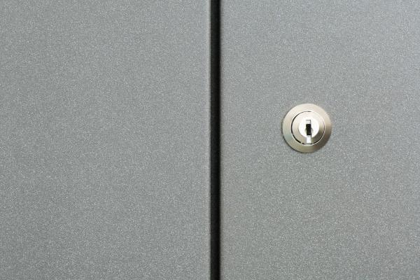 lock on cabinet door full frame