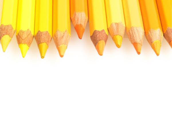 yellow pastels horizontally