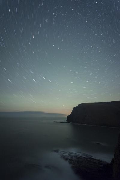 uk england cornwall starry sky at