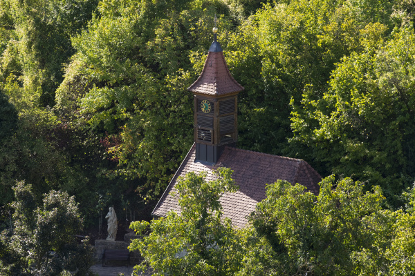 germany lower franconia lourdes chapel at