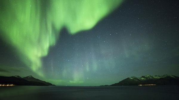 norway troms northern lights