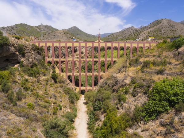 spain andalusia nerja roman aqueduct acueducto