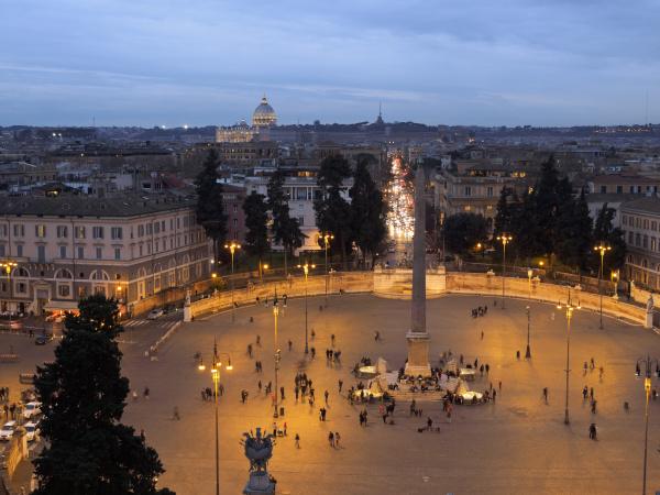 italy rome piazza del