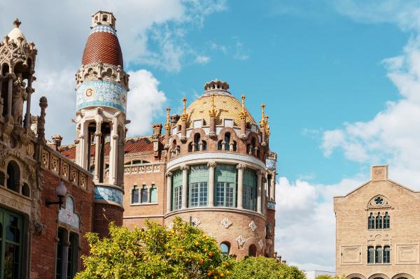 spain barcelona towers of