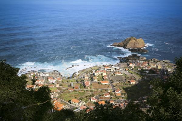 portugal madeira view on porto moniz