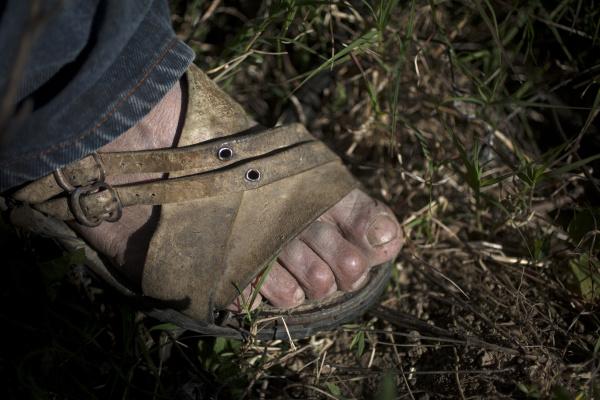huarache sandals of tomas villanueva buendia
