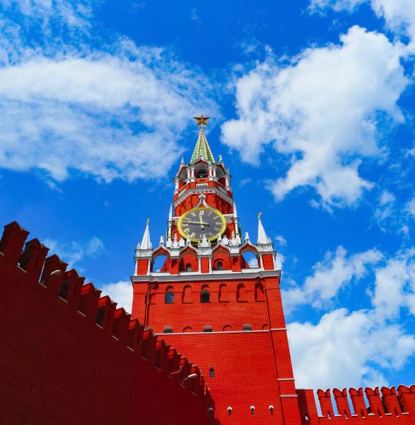 kremlin in moscow russia